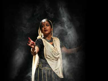 Sharmistha Mukherjee during a performance. Official site