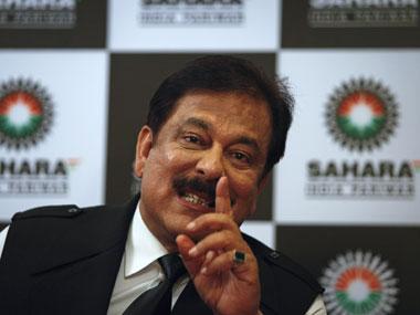 Sahara group chairman Subroto Ray. PTI