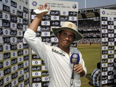 Sachin Tendulkar's farewell speech moved the Wankhede crowd to tears. BCCI