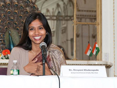 Devyani Khobragade in this file photo. Image from her Facebook page.