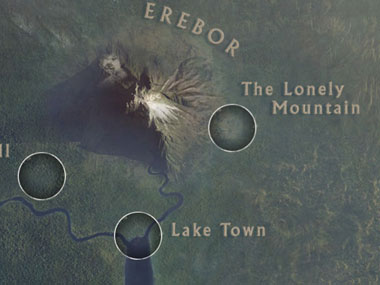 Cant get enough of The Hobbit Try Googles cool map of Middle Earth