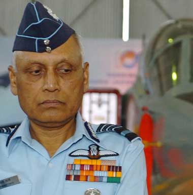 SP Tyagi. AFP