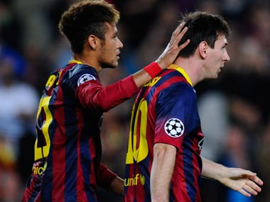 Hard To Imagine Football Without Lionel Messi Says Barcelona Team Mate Neymar Sports News Firstpost
