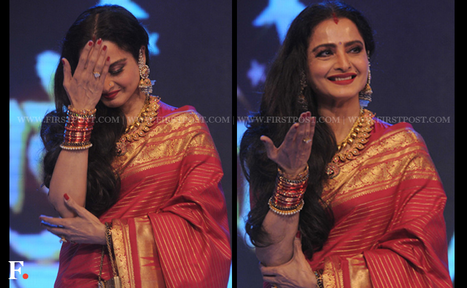 Rekha Latest News Photos Reviews: Images: Rekha Still Has The Moves And All She Needs Is A Stage