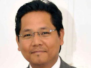 Meghalaya Leader of Opposition Conrad Sangma. Image courtesy Conrad's Facebook account