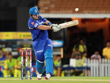 File photo of Shane Watson in action for the Rajasthan Royals.