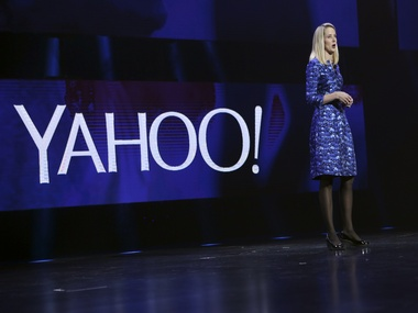 Yahoo CEO Marissa Mayer. Image: Reuters