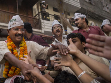 Arvind Kejriwal has campaigned relentlessly in Varanasi. Getty Images