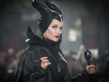 Angelina Jolie as Maleficent in the film. AP