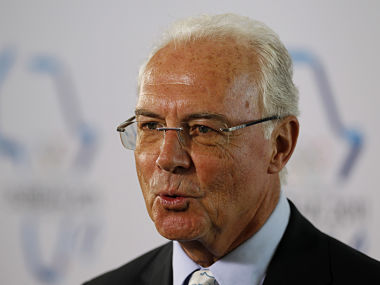 File picture of Franz Beckenbauer. Reuters