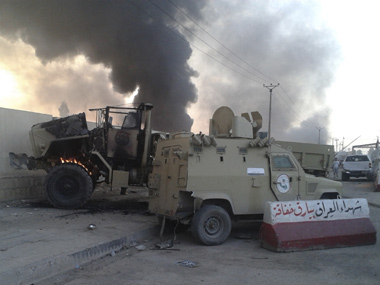 Photo of recent violence in Iraq. Reuters image