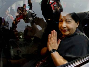 Tamil Nadu Chief Minister J Jayalalithaa has been convicted in the disproportionate assets case.