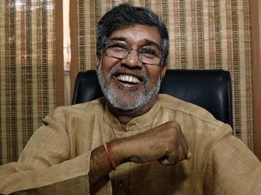 Satyarthi is still to be recognised for his work in his home state. Reuters image
