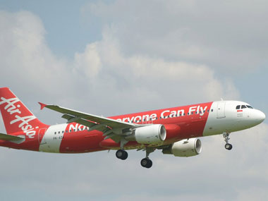 An AirAsia flight. AFP.