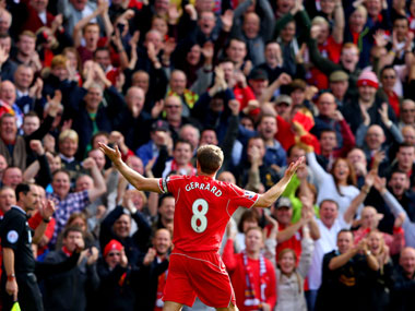 End of an era at Anfield. File Photo. Getty.
