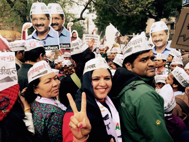 After Delhi elections, AAP is eyeing the Bengaluru civic body polls. PTI