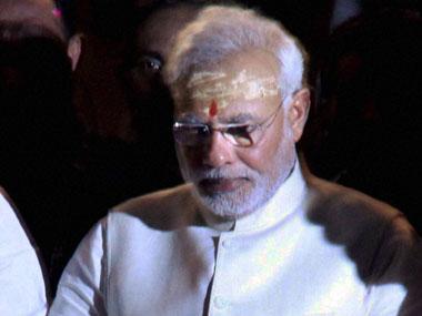 Prime Minister Narendra Modi in a file photo. PTI