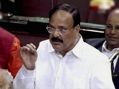Venkaiah Naidu said the government was trying to stop the broadcast of the Delhi gangrape documentary abroad. PTI