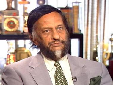 TERI chief RK Pachauri.