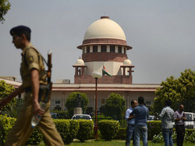 Supreme Court of India struck down the Sec 66A in its entirety today. AFP.