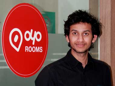 Oyo Rooms, CEO and founder, Ritesh Agarwal.