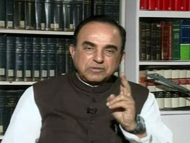 Subramanian Swamy. IBN Live.
