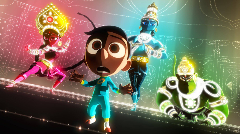 First Look Hindu Gods Star Superheroes Pixar Short Sanjays Super Team 2332658 on oscar life of pi soundtrack