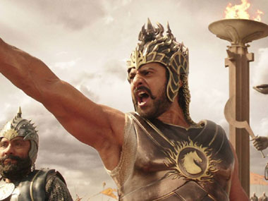A still from Baahubali.