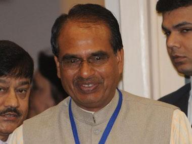 Shivraj Chouhan. AFP