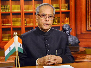 President of India Pranab Mukherjee. AFP