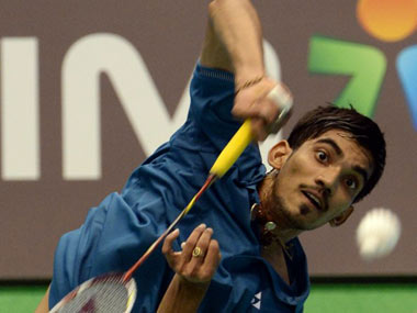 File picture of Kidambi Srikanth. AFP
