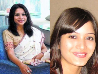 Indrani Mukerjea and Sheena Bora. Image courtesy: Facebook
