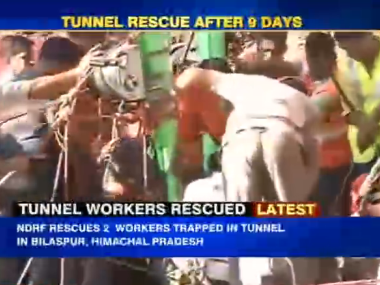 Image from IBNLive video.