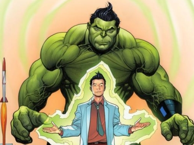 Amadeus Cho as the new Hulk. Twitter @MarcusErrico