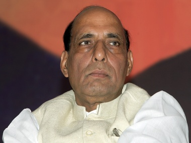 Home Minister Rajnath Singhm. Reuters