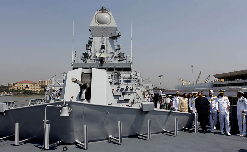 Naval warship INS Kochi, which was commissioned by Union Defence Minister Manohar Parrikar at Naval Dockyard in Mumbai on Wednesday, is the second ship of the indigenously designed and constructed Project 15A (Kolkata-class) guided missile destroyer, built by Mazagon Dock Shipbuilders. SOLARIS IMAGES