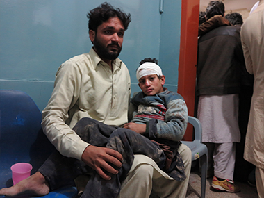 At least 180 people have died due to the Afghanistan earthquake. AP