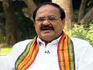 BJP's rivals using Rohith Vemula's  suicide to defame govt, claims Venkaiah Naidu