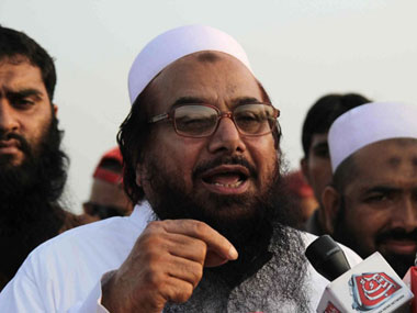 Hafiz Saeed. AFP