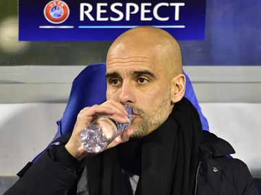 Pep Guardiola. AFP