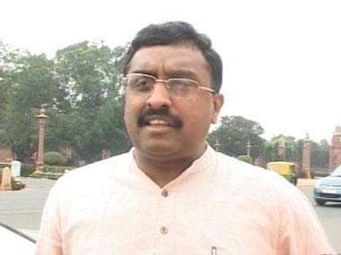 Ram Madhav. CNN-News 18