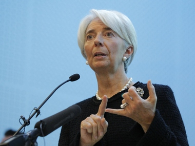 IMF Managing Director Christine Lagarde - Reuters