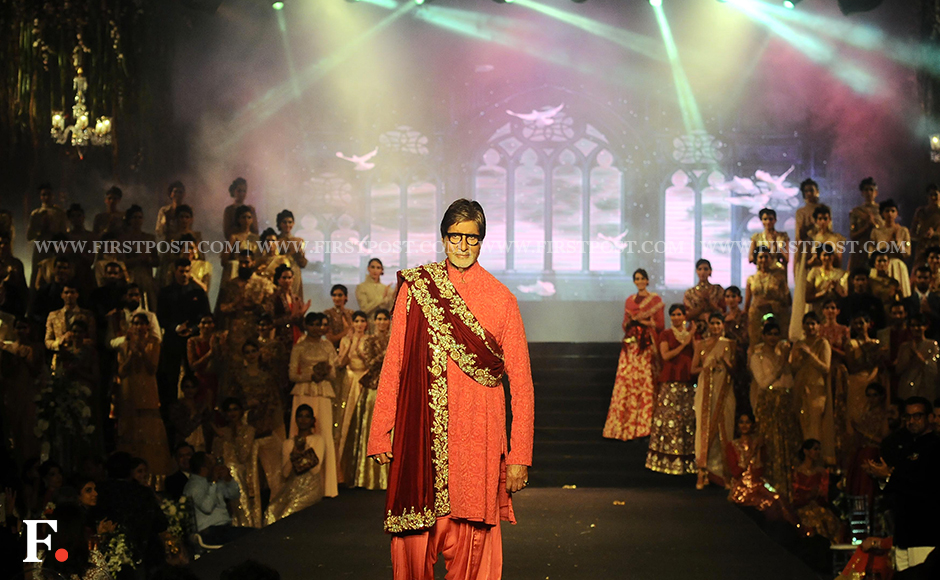 Amitabh Bachchan was the show stopper at the event. Firstpost/Sachin Gokhale
