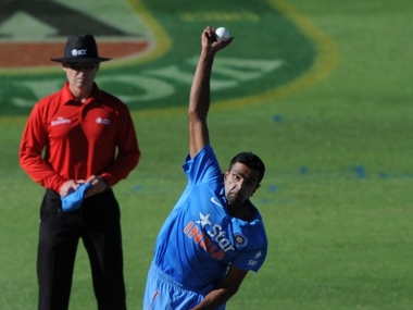 Indian spin duo of Ashwin and Jadeja went for considerable runs in the opener. AFP