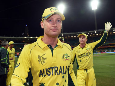 File image of Michael Clarke. AFP