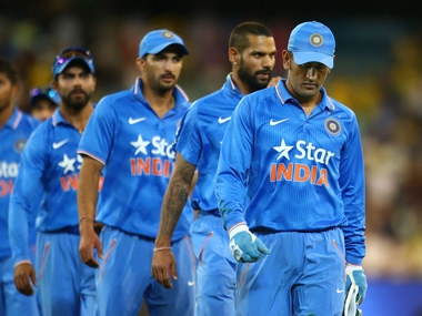India were in control during the chase before collapsing towards the end. Getty