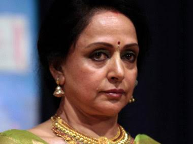 BJP MP Hema Malini. AFP