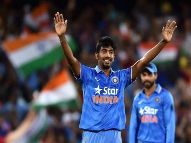 MS Dhoni described Jasprit Bumrah as the find of the tournamnt. Getty Images