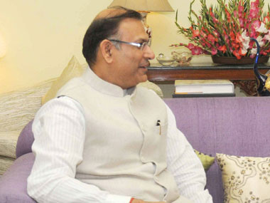 Minister of State for Finance Jayant Sinha. Image courtesy PIB