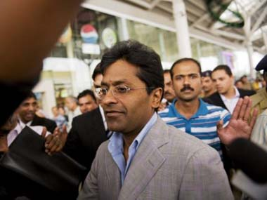 File picture of Lalit Modi. AFP